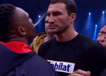 David Haye Derek Chisora Vitali Klitschko Wladimir Klitschko Klitschko vs. Chisora Klitschko-Chisora