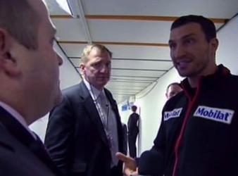 Derek Chisora Vitali Klitschko Wladimir Klitschko