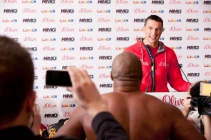 Wladimir Klitschko: I want to fight and punish Shannon